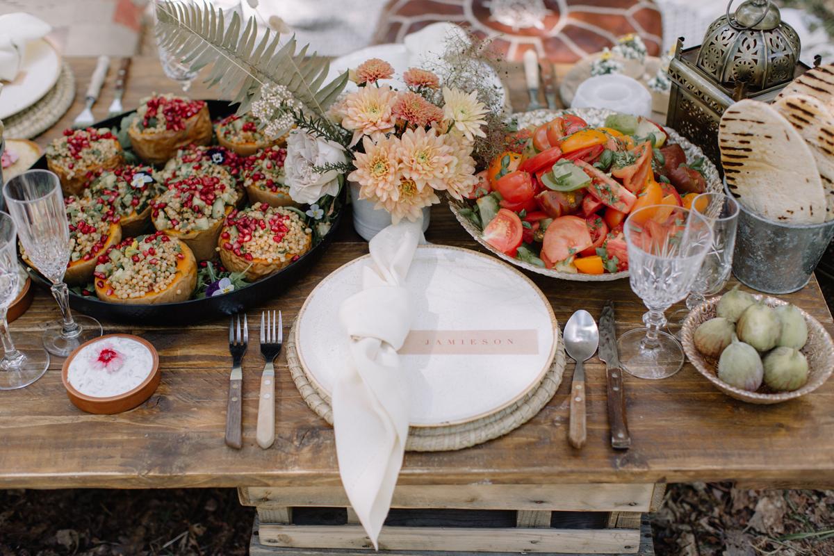 Wedding Catering Trends – Grazing Tables & Vegan Menus