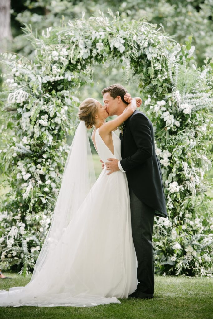 Image by Dominique Bader | Wedding Planning by Katrina Otter Weddings.