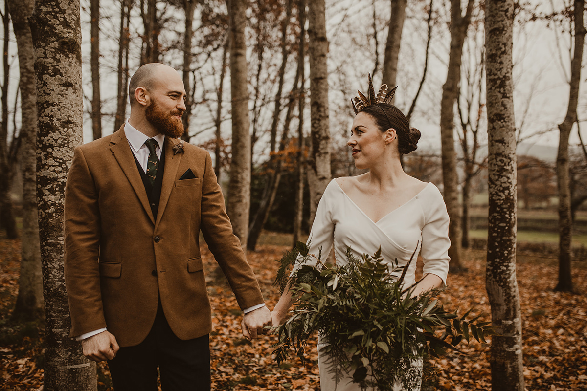 Autumn Wedding Inspiration at Garthmyl Hall - Claire & Cedric