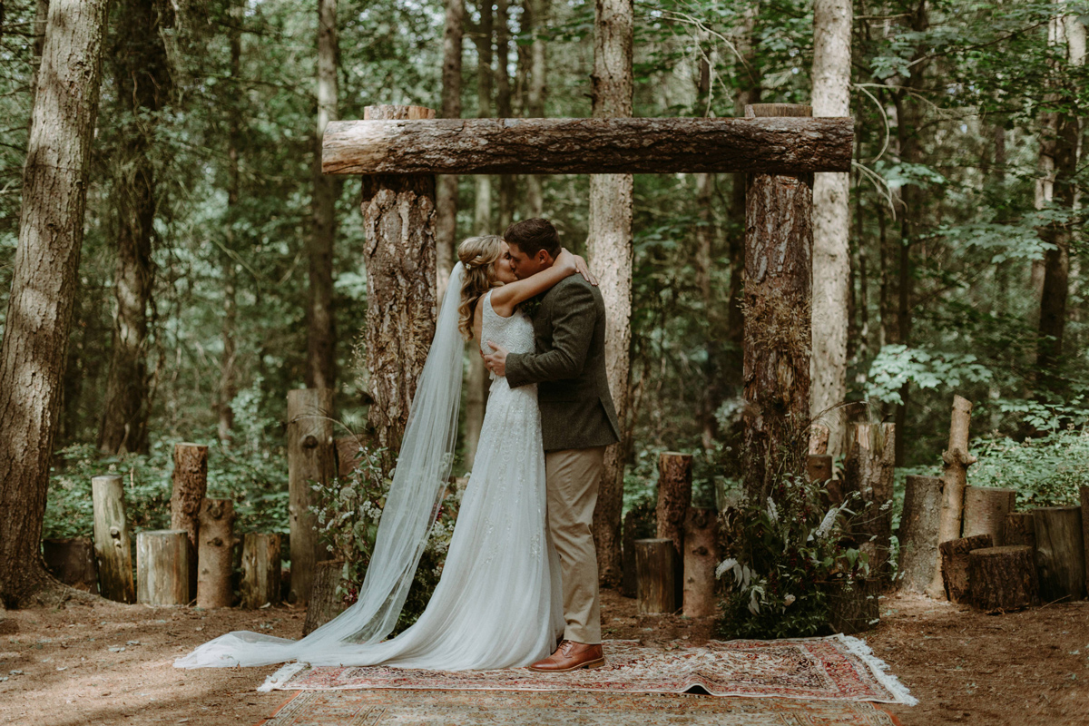How to Create a Magical Woodland Wedding - Wedding Planning Advice
