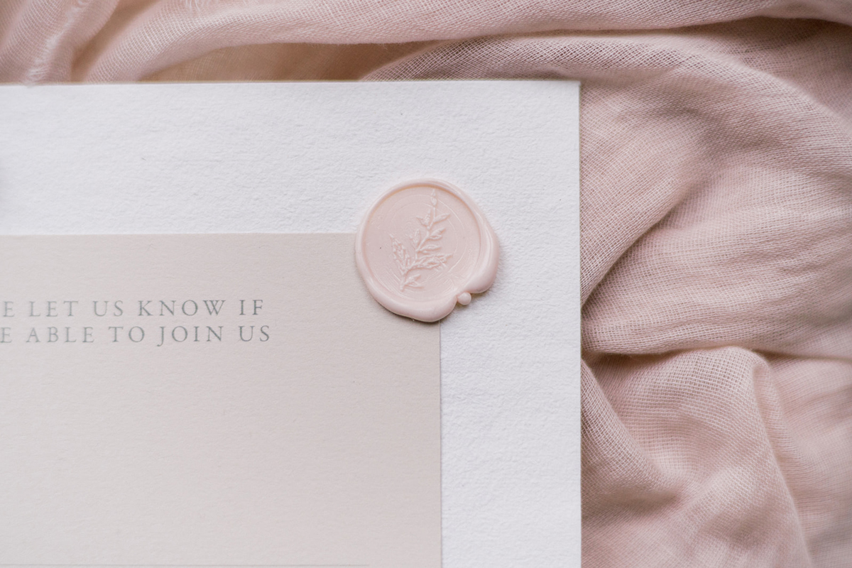 Romantic Blush Wedding Inspiration - Blossoming Beauty at Barton Court