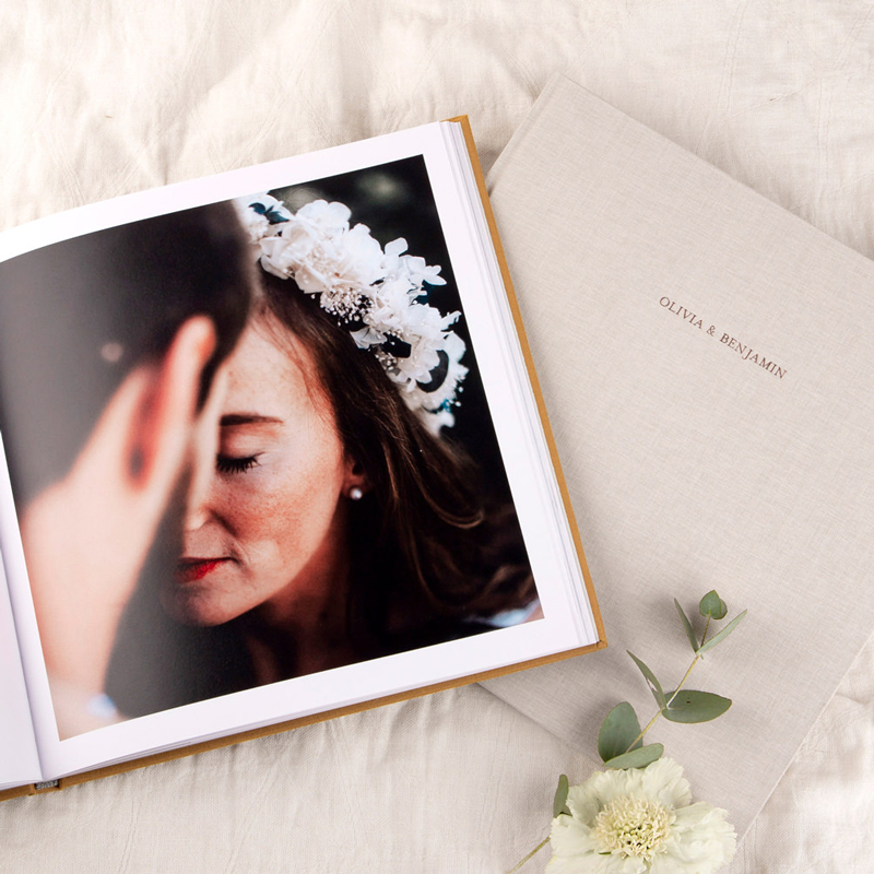 Fabric Hardcover Photo Books