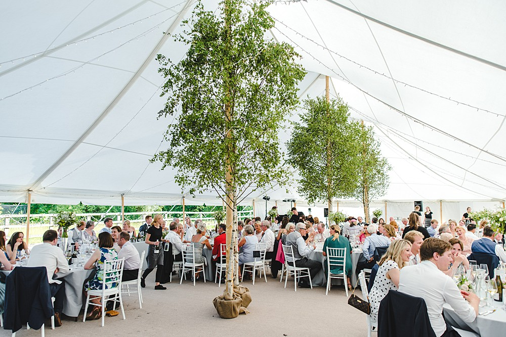 Image courtesy of Carron Marquees.