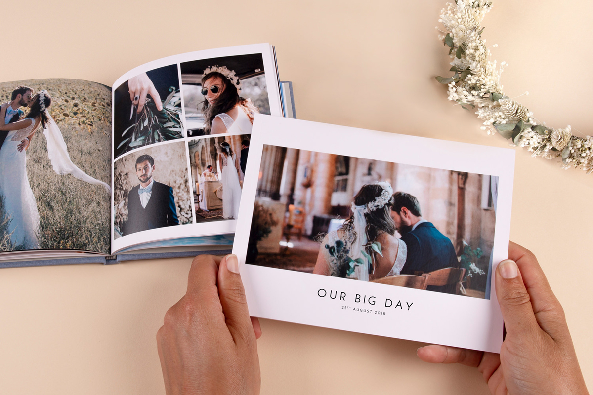 The Perfect Wedding Photo Album with Atelier Rosemood