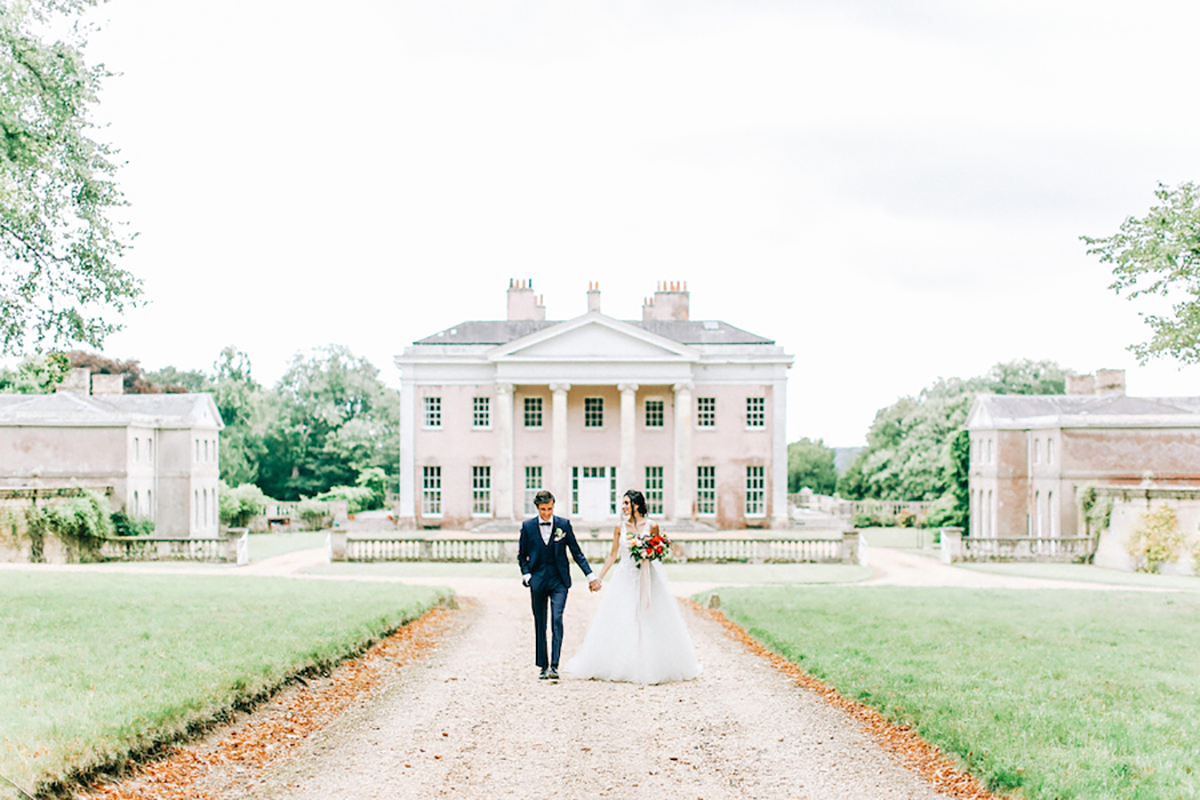 French Inspired Wedding Editorial at Hale Park in Hampshire