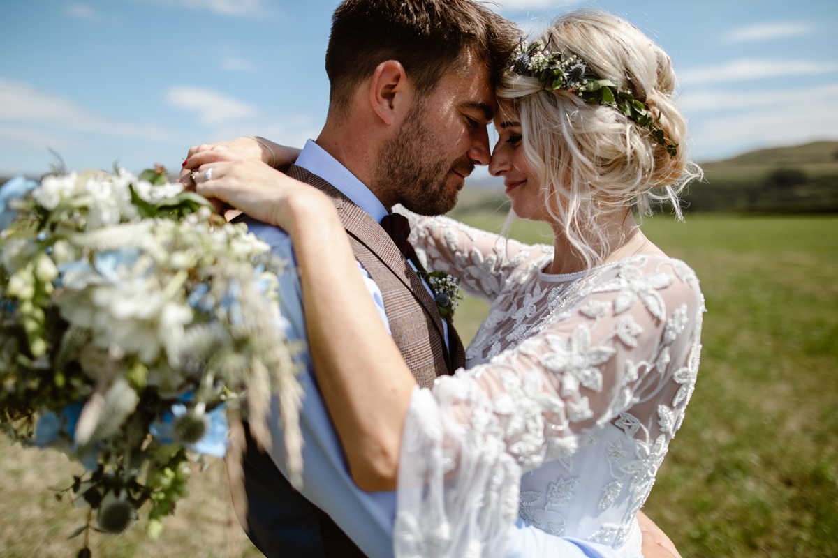 Bohemian Outdoor Wedding at Low Hall The Lakes in Cumbria