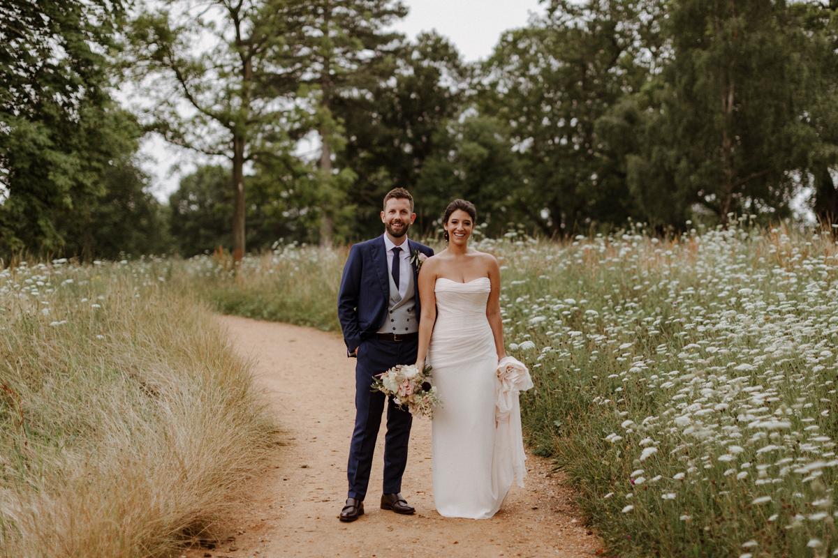 Romantic Weekend Wedding at Wilderness Reserve in Suffolk