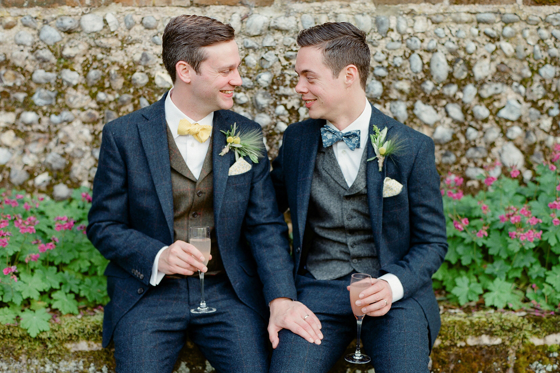 Outdoor Wedding at Voewood in Norfolk - Jamie & Christian